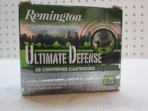 Remington Ultimate Defense 380 - 20 Rounds