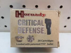 Hornady Critical Defense 40 S&W
