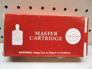 Master Cartridge 40 S&W
