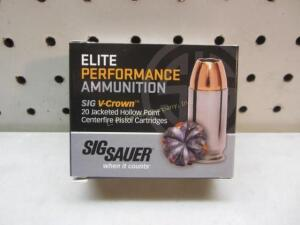 Sig Sauer Elite Performance V-Crown - 45 Auto