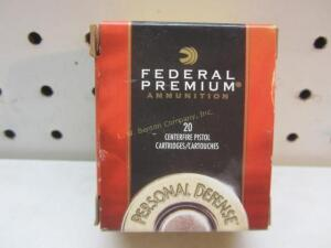 Federal Premium Hydra-Shok 9 MM