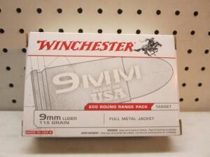 Winchester Range Pack 9 MM
