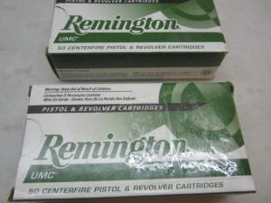2 Boxes Remington UMC 9 MM