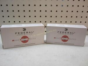 2 Boxes Federal 9 MM