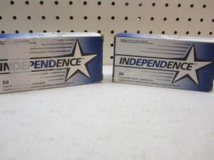 2 Boxes Independence 9 MM