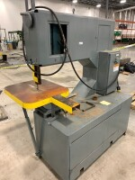 GROB INC. BAND SAW, SERIAL NUMBER 1186, SAW TYPE 4V36, YEAR 1974, 480 VOLT, COMPANY ENGINEER STATES WORKING WHEN PLANT CLOSED - 2