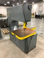 GROB INC. BAND SAW, SERIAL NUMBER 1186, SAW TYPE 4V36, YEAR 1974, 480 VOLT, COMPANY ENGINEER STATES WORKING WHEN PLANT CLOSED - 4