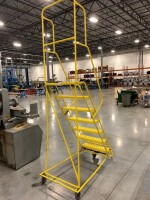 67-IN STAIR HEIGHT ROLLING LADDER