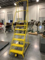 67-IN STAIR HEIGHT ROLLING LADDER - 2