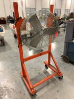 27-IN INDUSTRIAL FAN, TPI BRAND, ON ROLLING STAND - 2