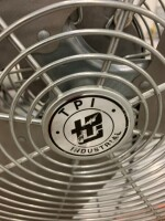 27-IN INDUSTRIAL FAN, TPI BRAND, ON ROLLING STAND - 3