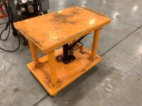24-IN BY 36-IN ROLLING LIFT TABLE - 2