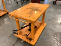 24-IN BY 36-IN ROLLING LIFT TABLE - 4