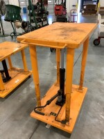 24-IN BY 36-IN ROLLING LIFT TABLE - 7