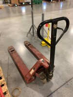 DAYTON BRAND PALLET JACK, WORKING CONDITION, 5500 LB CAPACITY, MODEL 4YX96 - 4