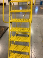 67-IN STAIR HEIGHT ROLLING STEP LADDER - 2
