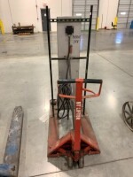 WAREHOUSE HEATER MOUNTED ON PALLET JACK, 480 VOLT, THREE PHASE - 3