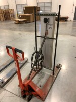 WAREHOUSE HEATER MOUNTED ON PALLET JACK, 480 VOLT, THREE PHASE - 4