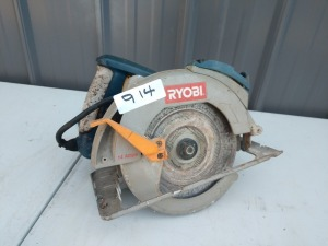 RYOBI BRAND CIRCULAR SAW, DOES POWER UP