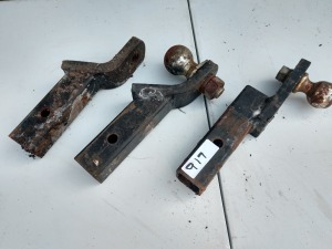 SET OF THREE RECEIVER HITCH INSERTS