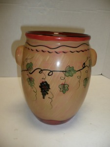REDWARE LANG WINE COUNTRY POT WITH HANDLES