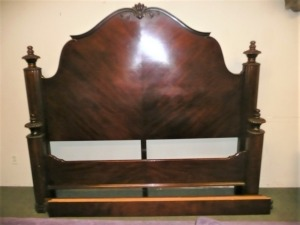 BEAUTIFUL KING SIZE BED WITH RAILS