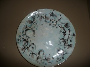DECORATIVE CERTIFIED INTERNATIONAL PLATE