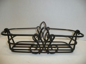 DECORATIVE IRON BASKET