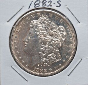 1882 S MORGAN DOLLAR