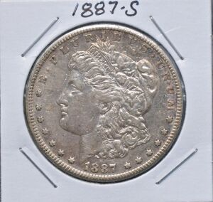 1887 S MORGAN DOLLAR