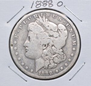 1888 O MORGAN DOLLAR