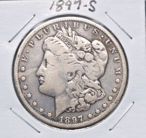 1897 S MORGAN DOLLAR