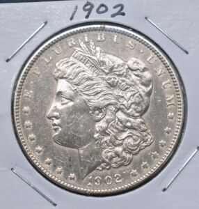 1902 MORGAN DOLLAR