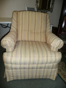 LT DESIGNS CENTURY FURNITURE ACCENT CHAIR