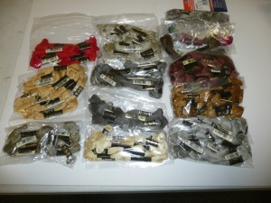 LOT OF MIXED  EMBROIDERY THREAD