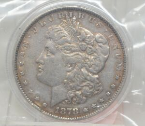 1878 MORGAN DOLLAR MARKED AU