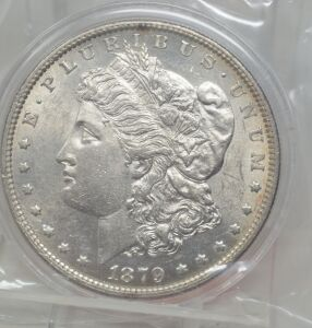 1879 O MORGAN DOLLAR MARKED UNC
