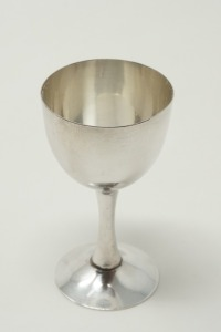 PURE SILVER OCCUPIED JAPAN CPO SAKE CUP / CORDIAL STEM, APPROXIMATE WEIGHT 36.9 G - LR