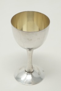 PURE SILVER OCCUPIED JAPAN CPO SAKE CUP / CORDIAL STEM, APPROXIMATE WEIGHT 38.6 G - LR