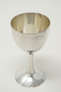 PURE SILVER OCCUPIED JAPAN CPO SAKE CUP / CORDIAL STEM, APPROXIMATE WEIGHT 36.3 G - LR