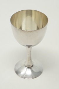 PURE SILVER OCCUPIED JAPAN CPO SAKE CUP / CORDIAL STEM, APPROXIMATE WEIGHT 37.7 G - LR