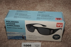 POLARIZED FIT OVER SUNGLASSES IN ORIGINAL BOX - LR