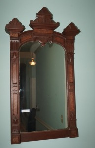 ANTIQUE WALL MIRROR - HALL