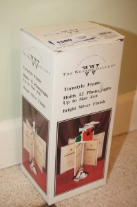 THE WESTIN GALLERY TURNSTYLE FRAME PHOTOGRAPH HOLDER IN ORIGINAL BOX - BR1