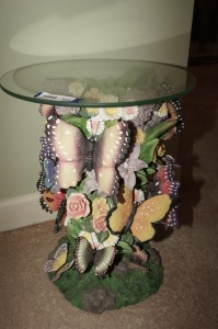 ORNATE BUTTERFLY TABLE - BR1