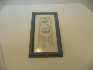 SMALL FRAMED BATHROOM PRINT