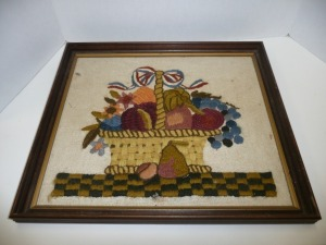 FRAMED NEEDLEWORK ART