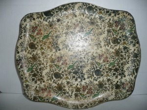 ANTIQUE SERVING TRAY