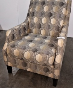 VERY NICE ASHLEY BRAND ACCENT CHAIR