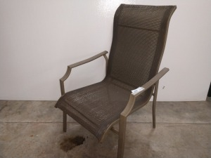 ALUMINUM OUTDOOR PATIO CHAIR
